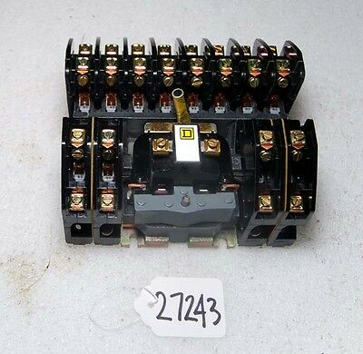 Square D Lighting Contactor (Inv. 27243-27245)