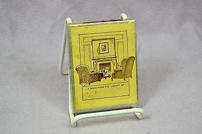 Vintage Antioch Bookplate Co Fireplace Bookplates Ex Libris SEALED USA 40 Pack
