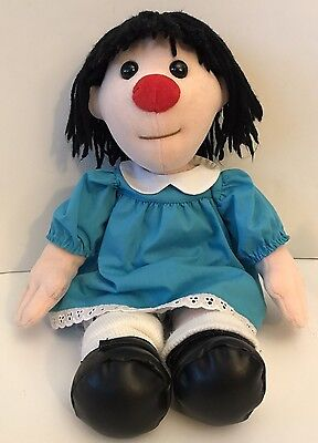 """1995 Commonwealth The Big Comfy Couch Molly Doll Clown Plush 18"""""""
