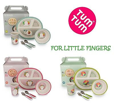 Tum Tum - For Little Fingers Eco Toddler Dining Set  - BPA free - Age 1-3