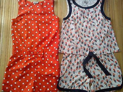 AMAZING 2x NEXT SUMMER GIRL JUMPSUIT PLAYSUIT 11/12 YRS USED ONCE