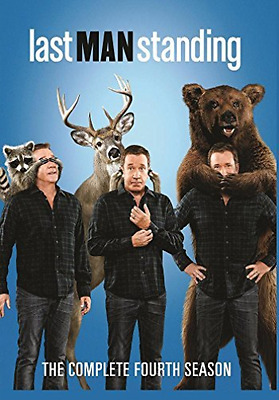 Last Man Standing: The Complete Fourth Season  DVD NEW