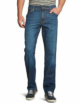 (TG. W35/L32 ( W35/L32)) Blu (Blau (Night Break 37W) Wrangler - Texas Stretch, J