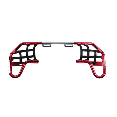 Tusk Comp Series Nerf Bars Red With Black Webbing - YFZ 450 2004-2013