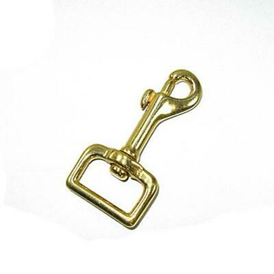 """1"""" Square Swivel Snap Solid Brass"""
