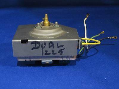 Dual 1225 Turntable Am400 Motor Works Well Made In Germany