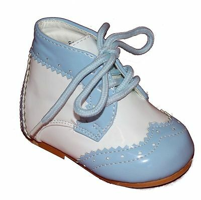 Baby Toddler Boys Traditional Patent Boots Romany Spanish Style by Samli London