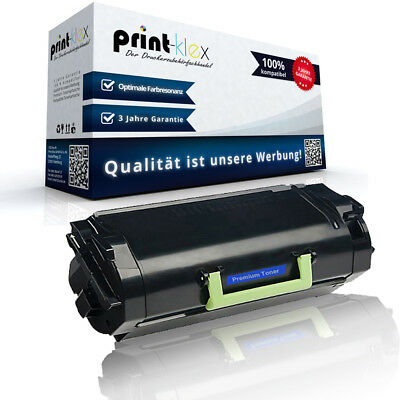 Compatible Toner Cartridge For Lexmark 622H Replacement XL Printer Pro Series