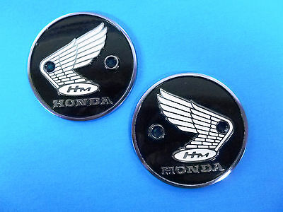 New Tank Badges Emblems S90 CL90 CA200 CB92 CA95 CB160 Genuine Honda E0043