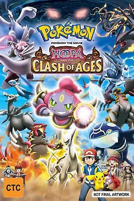 Pokemon The Movie - Hoopa And The Clash Of Ages - DVD Region 4 Free Shipping!