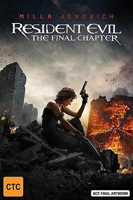 Resident Evil - Final Chapter, The - Blu Ray Region B Free Shipping!