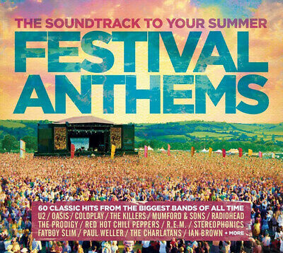 Various Artists : Festival Anthems CD 3 discs (2017) FREE Shipping, Save £s