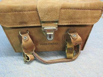 Nice Leather Top Grain Leather Camera Bag By  Ranchero Use Or Repurpose