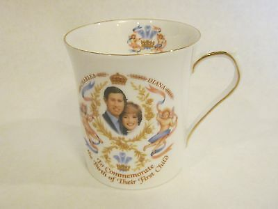 Charles & Diana's First Child Commemorative Mug