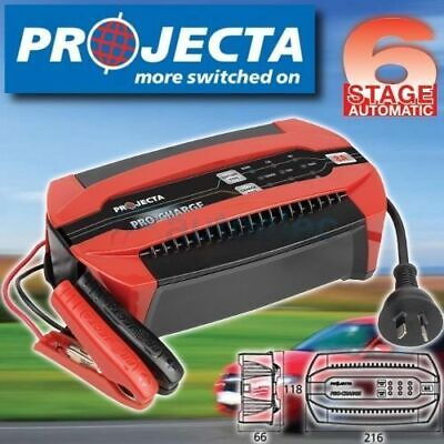 Projecta Pc800 12V 12 Volt Battery Charger 6 Stage 8 Amp 8A  Agm Gel Sla New