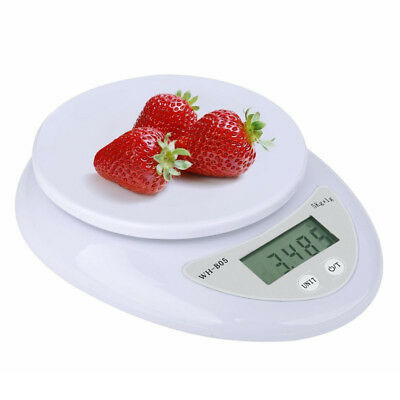 Digital Kitchen Scale 1-5000 g Diet Food Compact Kitchen Scale 0.1 - 176 oz NE