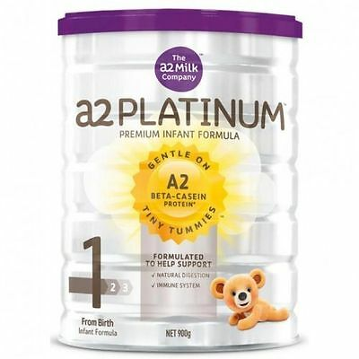 a2 Platinum Premium Infant Formula Stage 1 900 grams From Birth  x 1 Tin