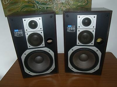 PIONEER CS-656 Vintage WOOD Cased SPEAKERS HI-FI Stereo 8 OHM