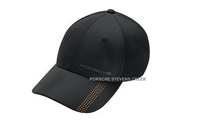 Porsche Men Women Hat Cap 911 Hat Baseball Golf Hat One Size Fits All Black Gold