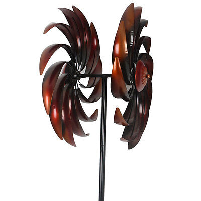 Copper Turbo Windmill Large 1.85M High |  Metal  Windmill