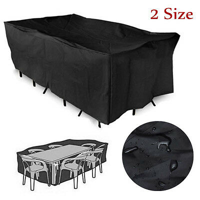 Outdoor Patio Furniture Cover Waterproof Garden Table Set Rain Sun Protection