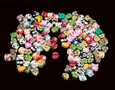 100 PCS Clay Beads DIY Slices Mixed Color Fimo Polymer Clay Hot Sale