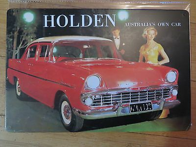 holden   tin metal sign MAN CAVE vintage style car sign brand new