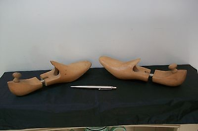 Vintage French Pair of shoe lasts #70