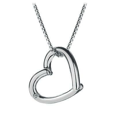 Hot Diamonds Just Add Love Silver and Diamond Pendant 41 length + 5 centimetres extender 1rRajcP