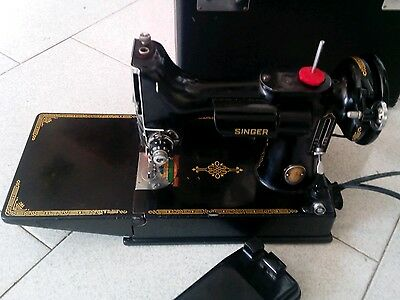 Macchina cucire 221 221k singer no 222 featherweight centennial sewing machine