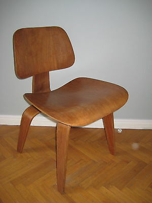 EAMES DCW DINNING CHAIR WOOD RARE 1st EDITION EVANS /HERMAN MILLER COLLECTOR VIN