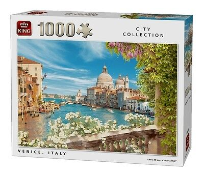 1000 Piece City Collection Jigsaw Puzzle - VIEW OF VENICE, ITALY 05657