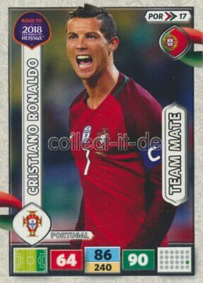 Panini Adrenalyn Road World Cup Brazil 234-cristiano ronaldo-Top Master