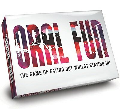 ORAL FUN 2 Player Adult Board Game - Naughty Romance for Couples Discreet P&P