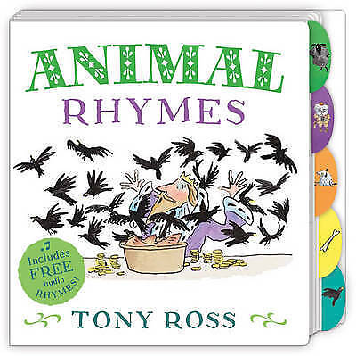 My Favourite Nursery Rhymes Board Book: Animal Rhymes by Tony Ross - NEW BOOK