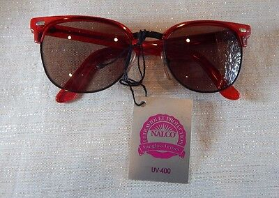 Vintage Girard 3300 Red 54 Combo Made in France Sunglasses Frame New/Old Stock