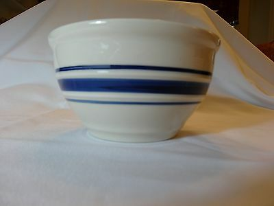 Country Crock Bowl with Blue Bands