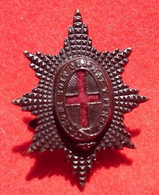 British Army. Coldstream Guards Genuine Officer's Service Dress Cap Badge