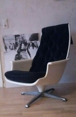 70er vintage space age design sessel, DUX galaxy chair- Form 8, easy chair