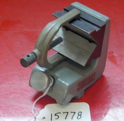 Kodak 2 Inch Constant Centerline V-Block With Clamp (Inv.15778)