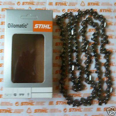 "15"" 37cm Makita Genuine Stihl Chainsaw Chain .325"" 1.5mm 64 DL Incl Tracked Post"