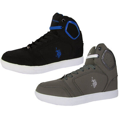 U.S. Polo Assn. Mens Supe P High Top Sneaker Shoes
