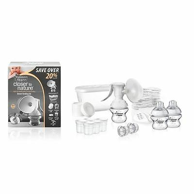 Tommee Tippee Closer to Nature Breast Pump Manual Feeding Kit