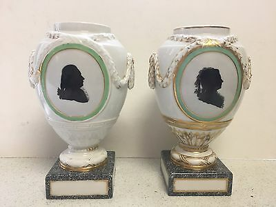 Antique 18th Century KPM Porcelain Vase/Urn Matching Set of Two