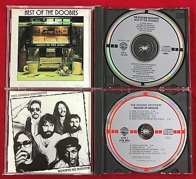 The Doobie Brothers ◈ Minute By Minute & Best Of ◈ Germany & Japan Target CD Lot