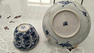 Genuine+ Quality   Chinese Antique Blue & White Tea Set Porcelain 18TH C