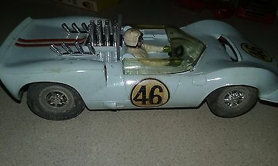 MARX CHAPARRAL 1/24 RACE SLOT CAR with Controller Case and Accessories Sears COX
