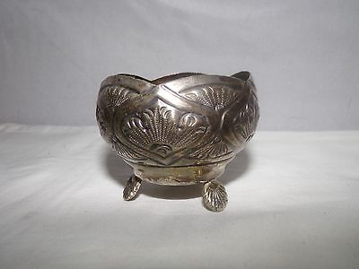 ANTIQUE SILVER BOWL-2 inch-FOREIGN?MEXICO?1.5 ozt-800?925?NR!