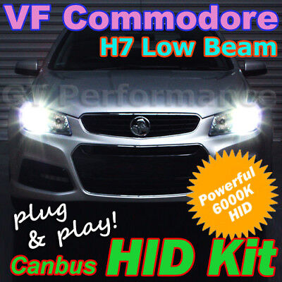 Canbus H7 6000K HID Kit to suit Holden VF Commodore HSV Gen-F Vauxhall VXR8 GTSR