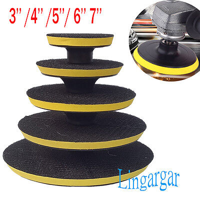 4Size Car Polisher Gross Polishing Buffer Buffing Pad Kit Set Drill Adapter Tool